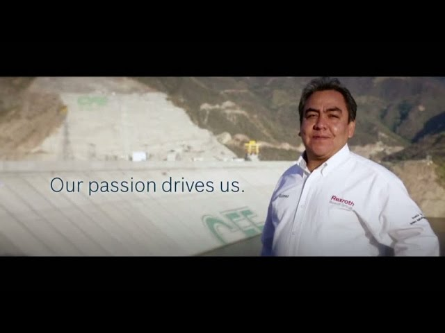 We are Bosch Rexroth. The Drive & Control Company.