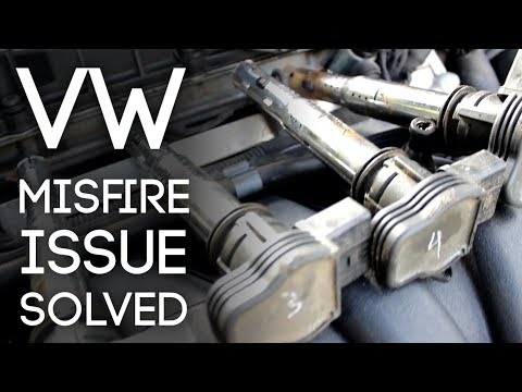 How To Solve Volkswagen / Audi Misfire Issues!
