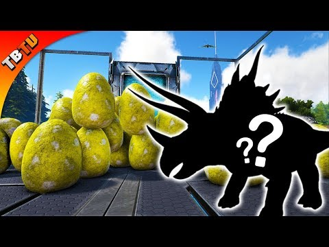 FULLY MUTATED TRIKE! ARK TRICERATOPS BREEDING AND MUTATIONS! Ark Survival Evolved Mutation Zoo