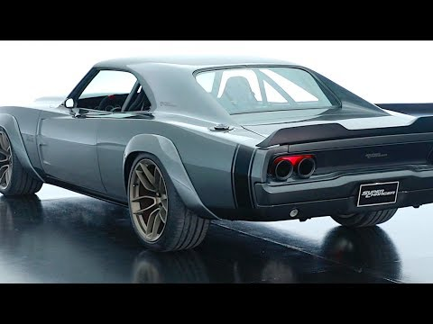 Dodge Supercharger Hellephant 1000HP Review 1968 Dodge Charger Restomod Hemi
