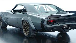 Dodge Supercharger Hellephant 1000HP Review 1968 Dodge Charger Restomod Hemi