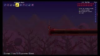 Let's Play Terraria 1.3 PS4 (Large World) Part 17 - Making an Artificial Crimson Biome