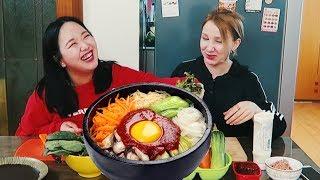 Как готовить Пибимпаб. Еда в Южной Корее