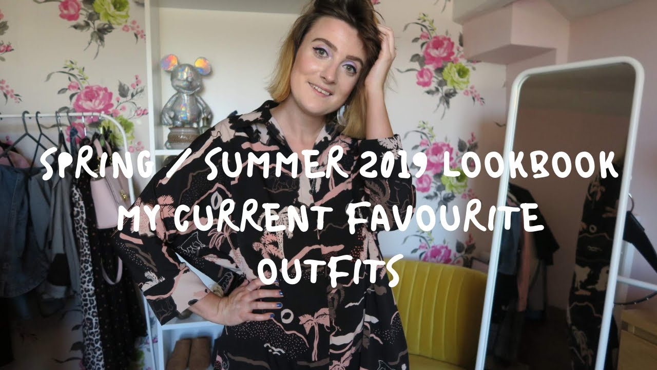 Spring Summer 2019 Lookbook | My Current Favourite Outfits | Retro, colourful, patterns, trends 1