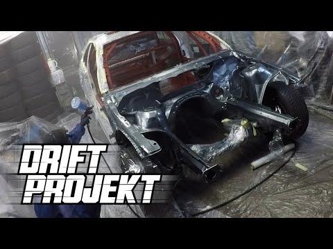 DRIFT PROJEKT - BMW e46 #6 - Lakierowanie budy