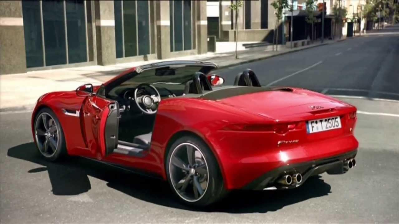 der neue jaguar f type werbung 2013 jaguar f type your turn youtube. Black Bedroom Furniture Sets. Home Design Ideas