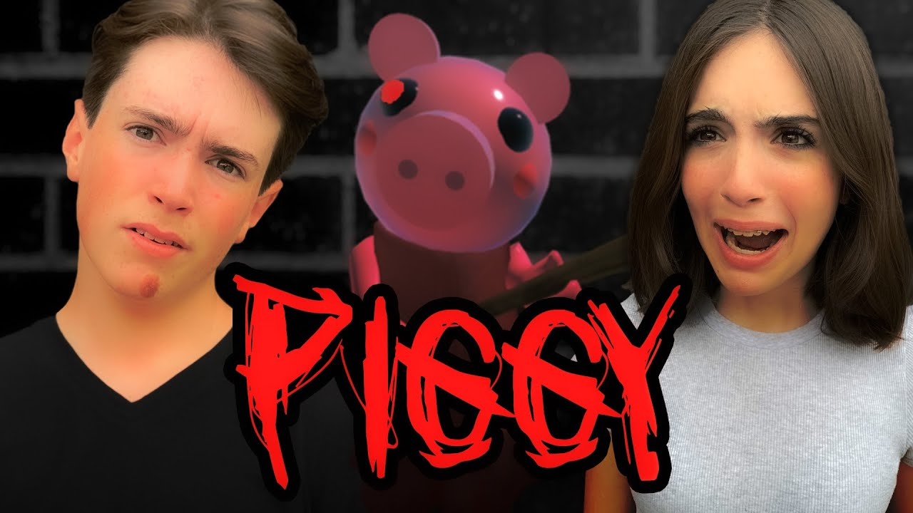 PLAYING PIGGY WITH MY SISTER FOR THE FIRST TIME!!
