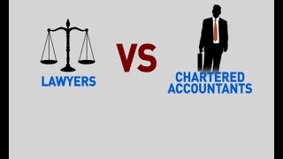 LAWYERS vs CHARTERED ACCOUNTANTS - The Firm