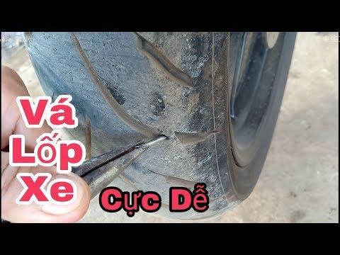 Cách Vá Lốp Không Săm Xe Máy Cực Dễ / Vá Lốp Xe Không Ruột Exciter 150