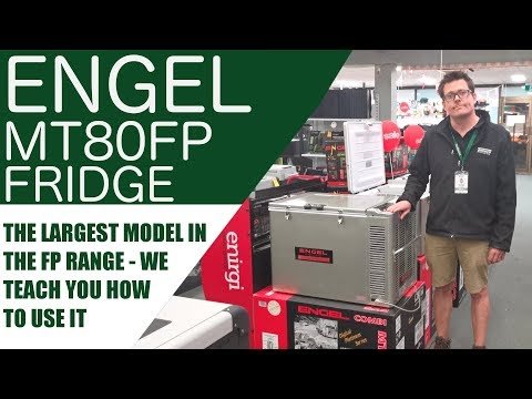 Engel MT80FP 12v/24v Fridge Freezer Demonstration & Review.  | Huge Fridge, Low Power Consumption
