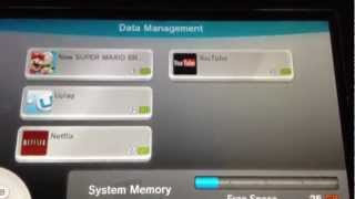 Wii U-How To Set Up/Use/Transfer Data To External HDD (Hard Disk Drive)