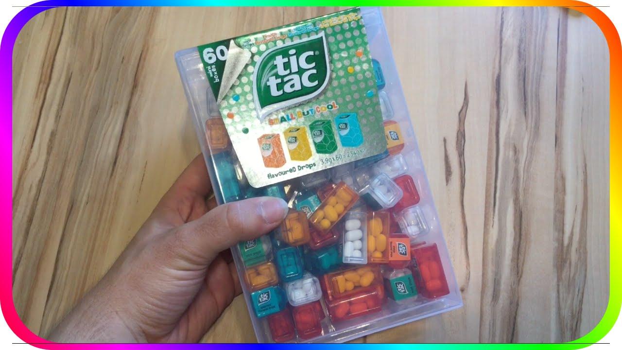 giant tictac dispenser 60 tic tac mini boxes youtube