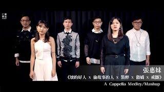 aMEI張惠妹 [ 壞的好人 x 偷故事的人 x 裝醉 x 傲嬌 x 戒斷 ] A Cappella Medley/Mashup by  Gravity 仁聲歌手