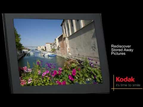Kodak Easyshare P725 Digital Picture Frame Youtube