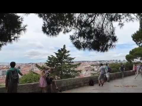 Street Scenes of Lisbon, Portugal