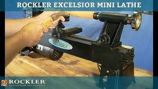 Rockler Excelsior Mini Lathe