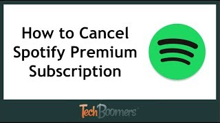 How to Cancel Spotify Premium Subscription thumbnail