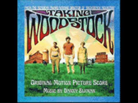 Taking Woodstock. Música: Danny Elfman