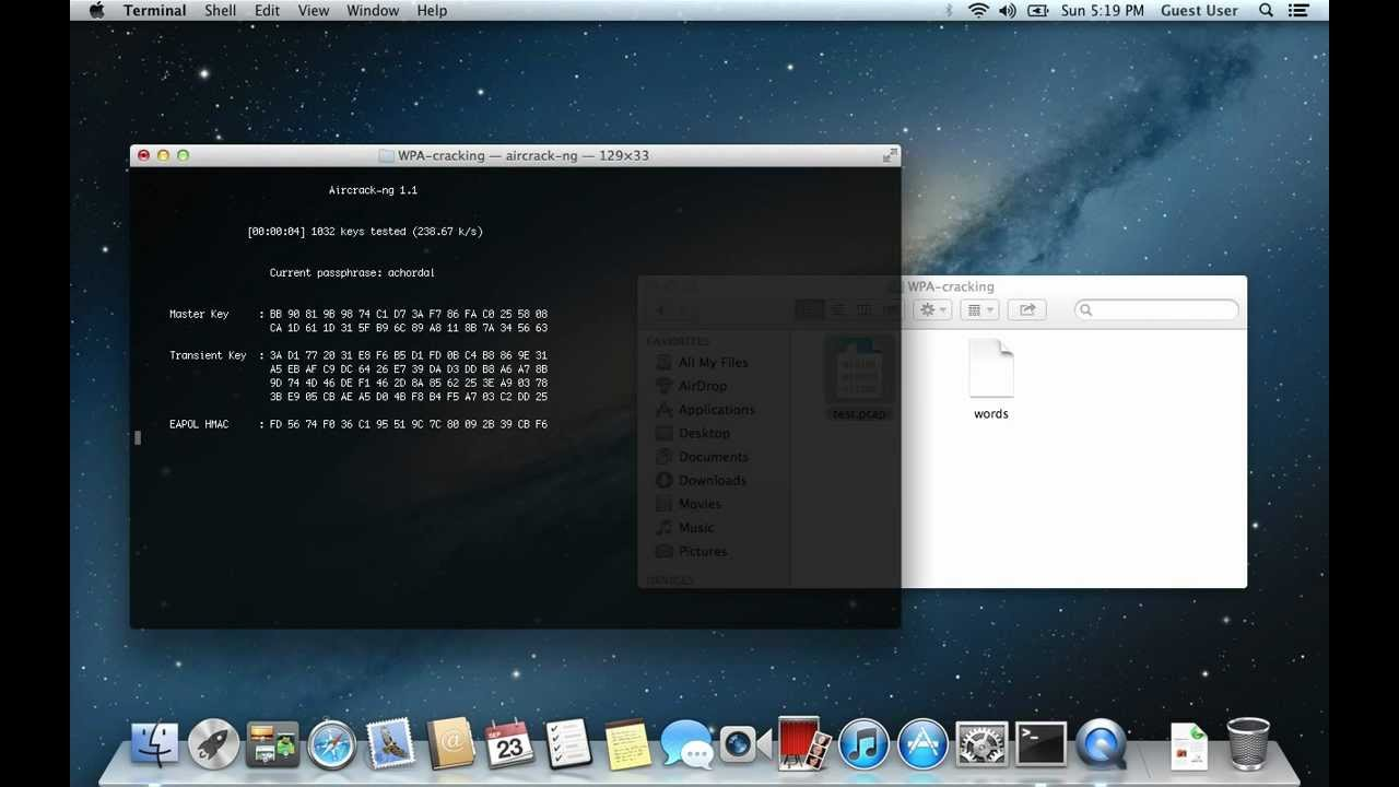 Guide to install AirCrack-ng on Mac OSX 10 8 Mountain Lion