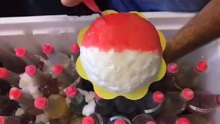 WoW! Fresh shave ice on the water