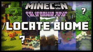 LOCATE BIOME COMMAND in 1.11?  - Secret talk with Mojangsters at dinner after Minecon
