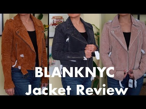 BLANKNYC Jacket Review: Suede Jackets For Petites