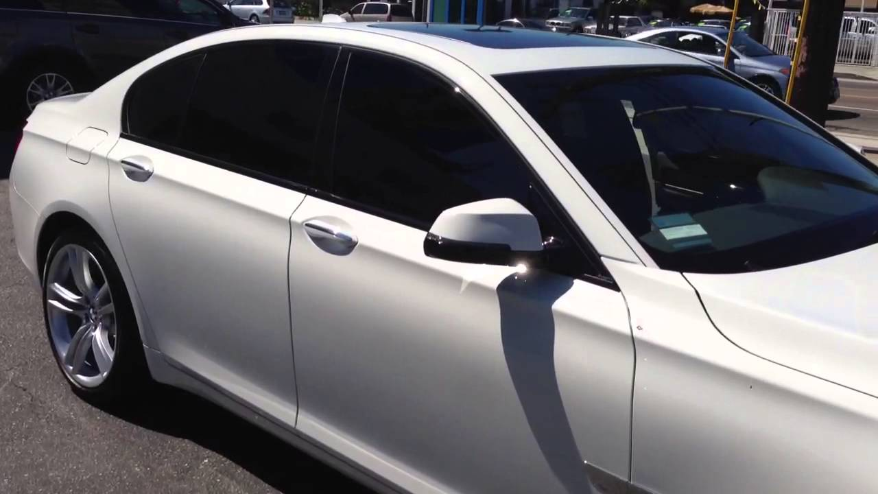 2013 bmw 750i limo tint all around los angeles ca 310 for 5 percent window tint