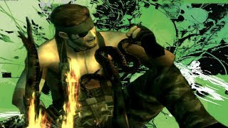 MGS3 - Capturing & eating every plant and animal