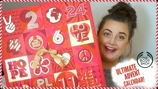 The Body Shop ULTIMATE Advent Calendar! | KayleighMC