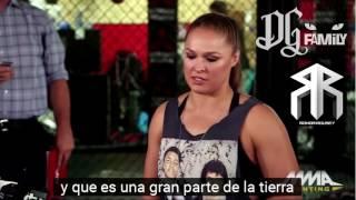 Ronda Rousey Talks her last fight against Amanda Nunes