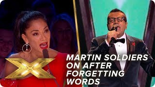 Martin Bashir soldiers on despite forgetting words to 'Easy'   Live Week 2   X Factor: Celebrity