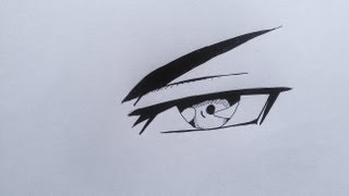 How To Draw Evil Anime Eye