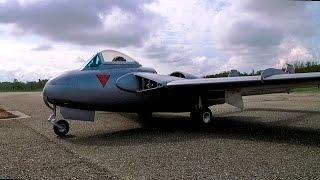 Vol du De Havilland Venom de Gil K