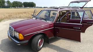 "1985 Mercedes-Benz W123 T-Model 200T ""Dodie"" (2018)"