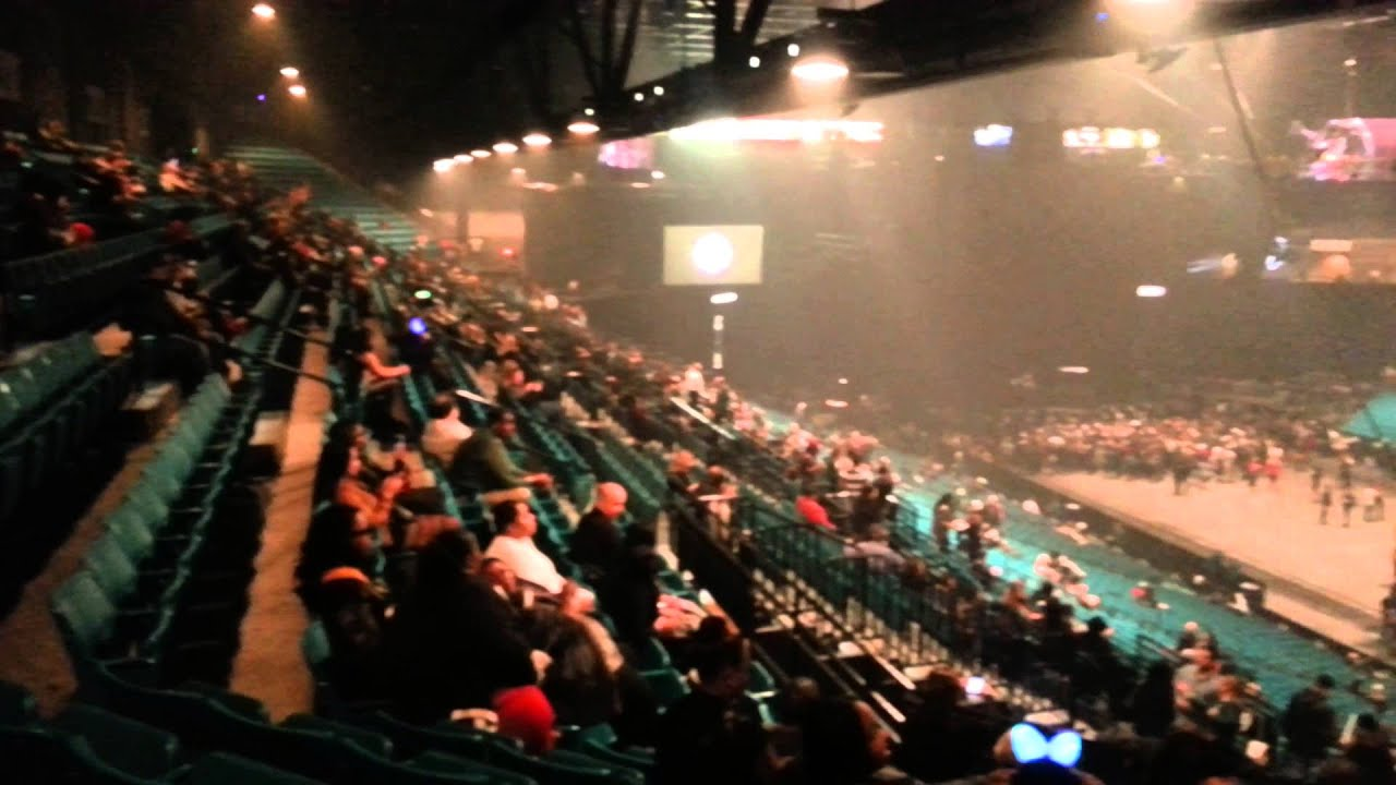 MGM Grand Garden Arena - Section 207 - YouTube
