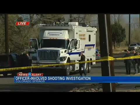 Burglary suspect shot and killed by Colorado Springs Police officers