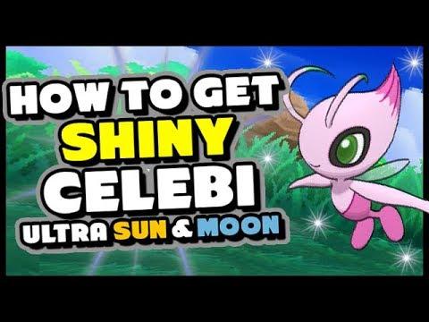 HOW TO GET A GUARANTEED SHINY CELEBI IN POKEMON ULTRA SUN AND MOON
