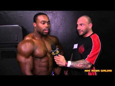 BRANDON GREENE 2015 NPC Atlantic States Open Men's Bodybuilding Overall Winner