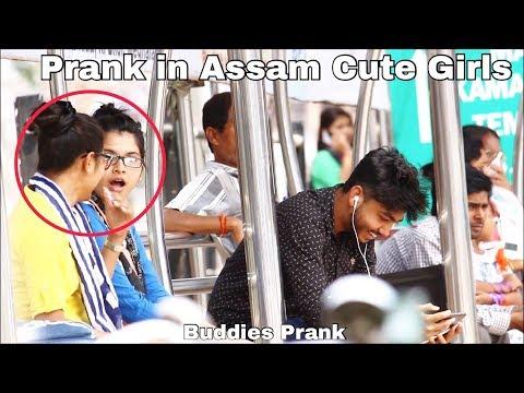 Khel Prank In Guwahati Cute Girls | Assamese Prank | Assam Prank | Local Funny Video | Buddies Assam