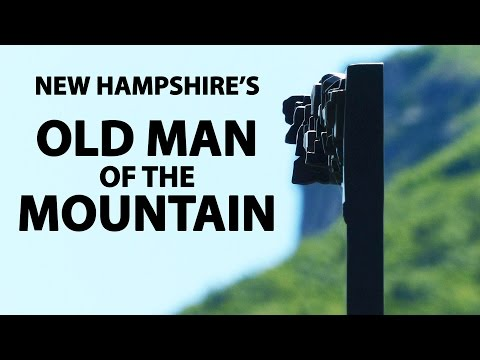 New Hampshire's OLD MAN Of The MOUNTAIN @ Franconia Notch State Park