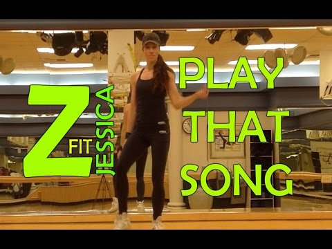 Zumba Cooldown Stretch  Play That Song  ZumbaFitJessica