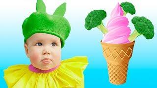 Do You Like Broccoli Ice Cream Song   동요와 아이 노래   어린이 교육