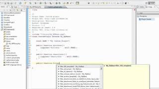 Wordpress OO plugin cadre