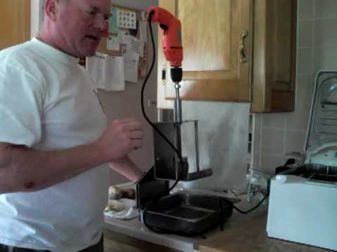 Ribbon fry cutter homemade