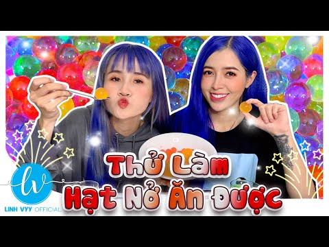 Thử Làm Hạt Nở Ăn Được  I Linh Vyy Official @Vê Vê Channel @Linh Barbie
