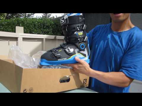 ff697d6d Unboxing Salomon X Pro 120 Max Ski Boots 2016-2017 - YouTube