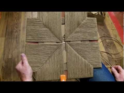 How To Weave A Rush Frame That Has No Corners Youtube
