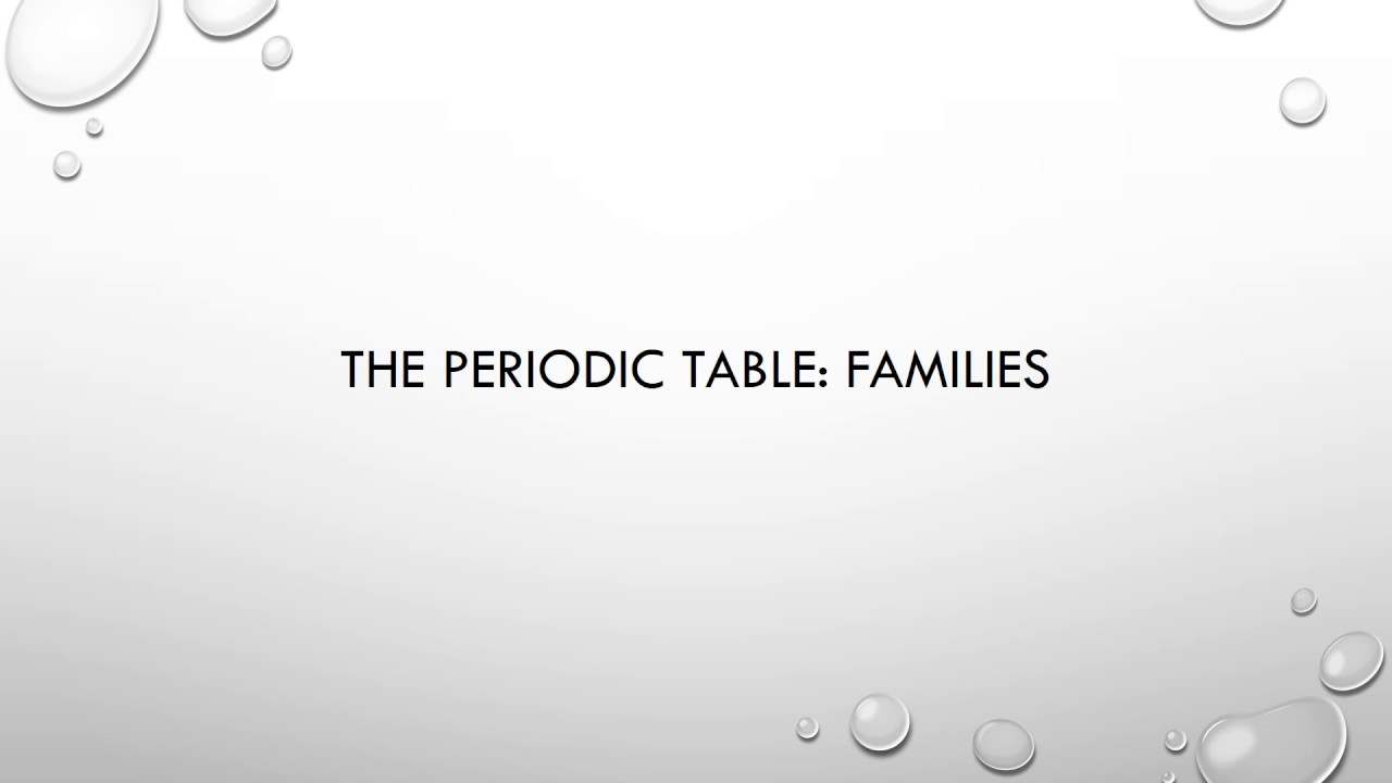 notes on the periodic table youtube - Periodic Table Theme Ap