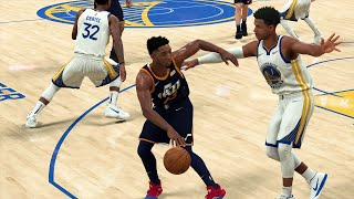 NBA Today 11/11 Golden State Warriors vs Utah Jazz Full Game (NBA 2K20)