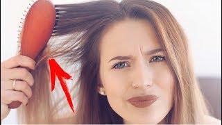 5 Ужасных Ошибок в Уходе за Волосами